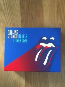 Rolling Stones Blue and Lonesome Cd box set very good condition