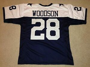 UNSIGNED CUSTOM Sewn Stitched Darren Woodson Thanksgiving Jersey - Extra Large