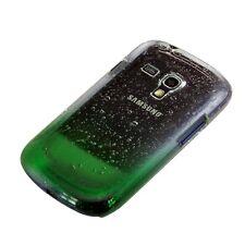 Kwmobile funda rígida para Samsung Galaxy s3 mini i8190, gotas de lluvia verde cover