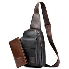Men's Retro Travel Bag & Wallet