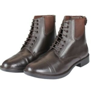 Horka Deluxe Jodhpur Boot, Laced Jodhpur Boot, Short Boot, Black & Brown, SALE