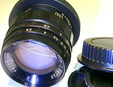 Lentar 105mm f2.8 Lens Telephoto manual focus adapted to CANON EF EOS T7 cameras