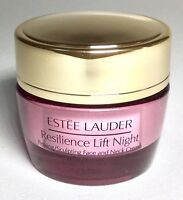 Estee Lauder RESILIENCE LIFT NIGHT FIRMING FACE CREME 0.5 oz/ 15ml