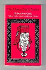 THE CHINESE NAIL MURDERS (Robert van Gulik/for the Judge Dee completist)