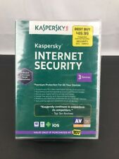 KASPERSKY INTERNET SECURITY 2013 - 3 DEVICES PC's Macs & MOBILE (ANDROID & iOS)
