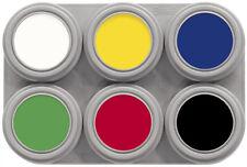 Grimas Face Paleta De Colores ** 6 Color ** Agua Maquillaje