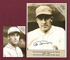 "1933-1983 GIANTsize 4-1/2"" x 6') Marketcom Conlon: AL SIMMONS, Athletics/A's"