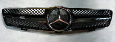 Mercedes Benz CLS Front Grille W219 Model 2004 to 2008 Black - Chrome
