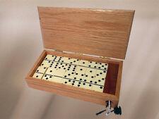 Dominoes Box w/Cribbage Board Scoring
