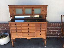 Antique Medical Dental Cabinet 21 drawer
