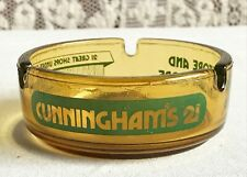 Vintage Cunningham's 21 Drug Store Ashtray Detroit Michigan