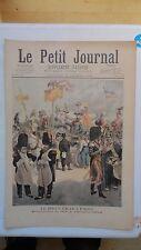 PETIT JOURNAL ILLUSTRE VOILIER PRESIDENT FELIX FAURE LE HAVRE CARNAVAL PARIS