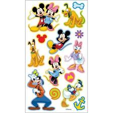 Scrapbooking Crafts Stickers Disney Puffy Mickey Mouse Friends Minnie Goofy