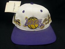 Officially NBA Basketball Licensed Los Angeles Lakers Snap Back Hat