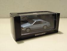 Opel Monza 30 E - 1980 - Aquamarinblau / blue metallic - Minichamps 1:43!