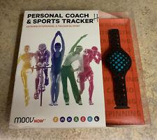 MOOV NOW Personal Coach & Sports Tracker Aqua Blue Waterproof