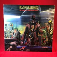 "IRON MAIDEN Stranger In A Strange Land 1986 UK 12"" Vinyl Single EXCELLENT CONDIT"