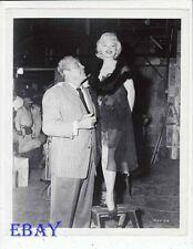 Some Like It Hot Marilyn Monroe RARE Photo Buddy Baer candid on set