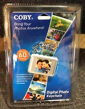 Coby Digital Photo Key chain DP-151 Holds Up To 60 Photos