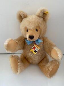 """STEIFF ORIGINAL TEDDY BEAR 20"""" 0202/51 JOINTED CARMEL VINTAGE 1968-90 MOHAIR"""