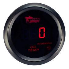 52mm LED Anzeige Digital Öltemperatur Oil Temperature Auto Instrument Gauge WYS