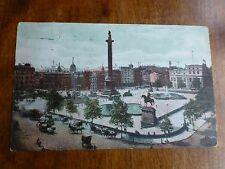 R105 TRAFALGAR SQUARE LONDON Postcard c1906