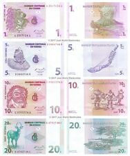 Congo 1 + 5 + 10 + 20 Centimes 1997 Set of 4 Banknotes 4 PCS  UNC