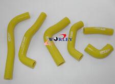 For HONDA CRF450R CRF450 2002 2003 2004 02 03 04 Silicone Radiator Hose YELLOW