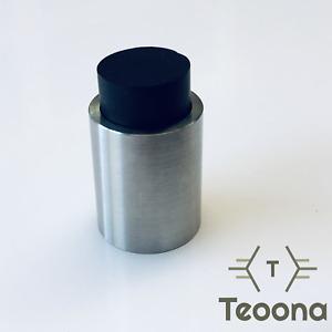 Teoona TEO Wandtürstopper Ø20mm EDELSTAHL Türstopper made in Germany Design Mode