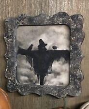 (2) SALE!!⭐️ Painted Wood Frame Scarecrow Halloween Dollhouse Miniature 1:12