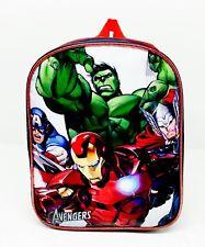 Marvel Vengadores Mochila Personaje Infantil Mochila Escolar