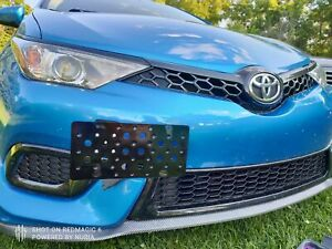 Bumper Tow Hook License Plate Mount Bracket For Toyota Corolla iM 2017-2018 New