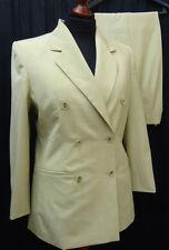 Zweireihige Damen-Anzüge & -Kombinationen aus Polyester mit Hose