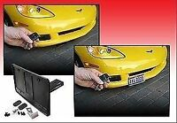 AUTOMATIC POWERED Retractable License Plate Frame Fits All Cars - UNIVERSAL!