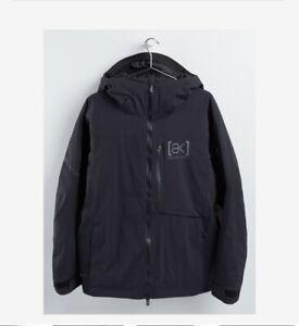 NEW Burton [ak] GORE‑TEX Helitack Stretch Jacket Men's Size Medium True Black