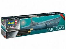 Sous-marin US Navy Gato-Class - Platinum Edition - échelle 1/72 - REVELL 05168