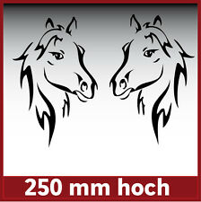 Aufkleber /  Sticker / Dekor / Pferdekopf / Horse / #084