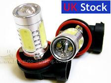 H11 Xenon WHITE 16W HIGH POWER 8000K COOL BLUE LED Car Fog Bulbs B