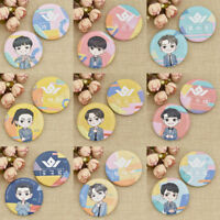 Kpop Nine Percent Round Badge Pins Brooches For Clothes Hat Backpack Fans Gift
