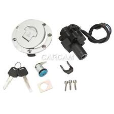 Ignition Switch Fuel Gas Cap Seat Lock Key Set for Honda CBR600 F3 1995 96 97 98