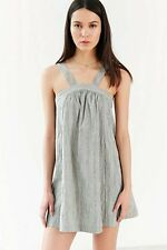 NWOT Women Cooperative Urban Outfitters Striped Trapeze Dress L Large 9/10 11/12