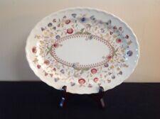 """Vintage Vernon Kilns DESERT BLOOM 12"""" Oval Platter"""