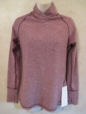 NWT LULULEMON WARM YOUR CORE Running Long Sleeve Top~Bordeaux Drama Purple~SZ 6