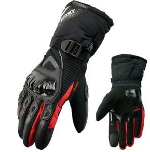 Gloves Winter Warm Motorcycle 100% Waterproof Windproof Touch Screen Ski Men