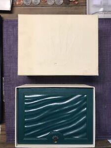 Authentic Rolex wave wooden box ; Case 39137.01.(6x4-1/2x3 S size ) New Style