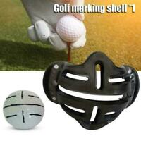Golf Ball Line Marker Template Alignment Liner Marks Shell Tool Putting 201 R3I0