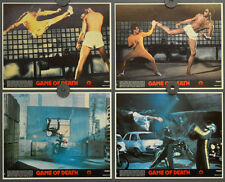 GAME OF DEATH 1979 ORIGINAL 8X10  MINT LOBBY CARD SET  BRUCE LEE GIG YOUNG