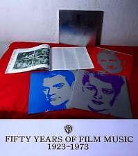 3LP Box Warner Bros. 50 Years of Film Music 1923 - 1973 (US)