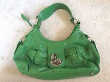 Next Green Leather Handbag