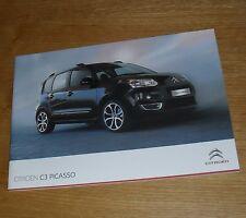 Citroen C3 Picasso Brochure 2010-2011 - VT VTR+ Exclusive